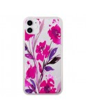 Coque iPhone 11 Roses Fleur Flower Transparente - Ebi Emporium