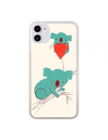 Coque iPhone 11 Koala Ballon - Jay Fleck