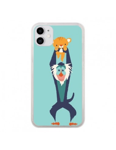 Coque iPhone 11 Futur Roi Lion King Rafiki - Jay Fleck
