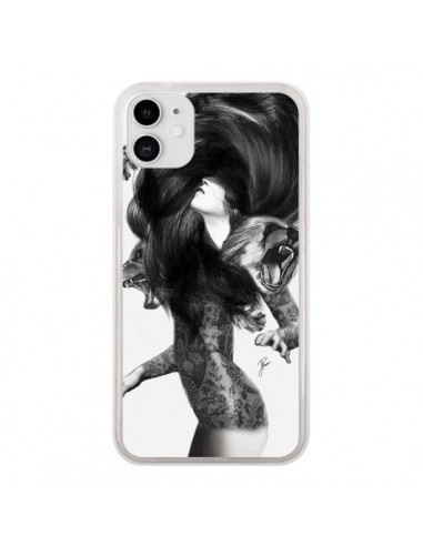 Coque iPhone 11 Femme Ours - Jenny Liz Rome
