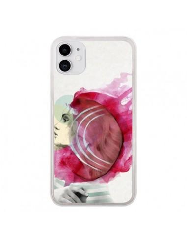 Coque iPhone 11 Bright Pink Femme - Jenny Liz Rome