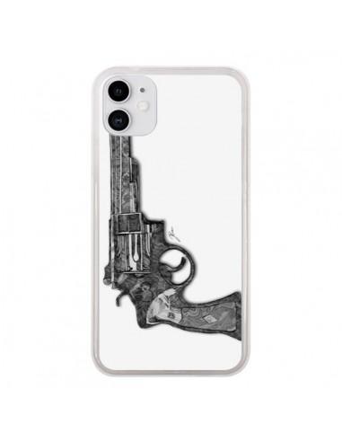Coque iPhone 11 Revolver Designer - Jenny Liz Rome