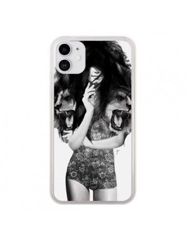 Coque iPhone 11 Femme Lion - Jenny Liz Rome
