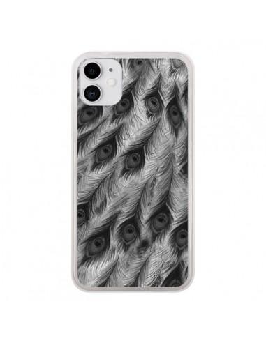 Coque iPhone 11 Paon Robe - Jenny Liz Rome