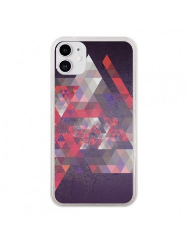 Coque iPhone 11 Azteque Gheo Violet - Javier Martinez