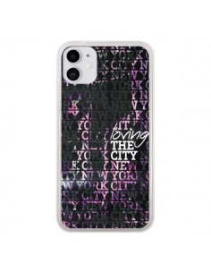 Coque iPhone 11 Loving New York City - Javier Martinez