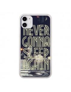 Coque iPhone 11 Never Gonna Sleep New York City - Javier Martinez