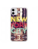 Coque iPhone 11 New York City Buildings - Javier Martinez