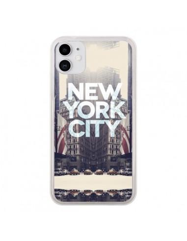 Coque iPhone 11 New York City Vintage - Javier Martinez