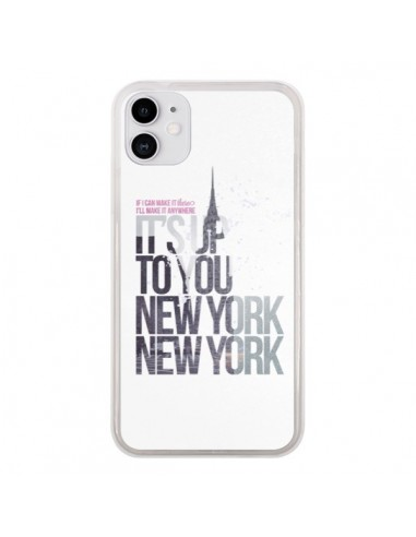 Coque iPhone 11 Up To You New York City - Javier Martinez