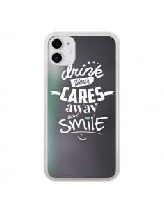 Coque iPhone 11 Drink Gris - Javier Martinez