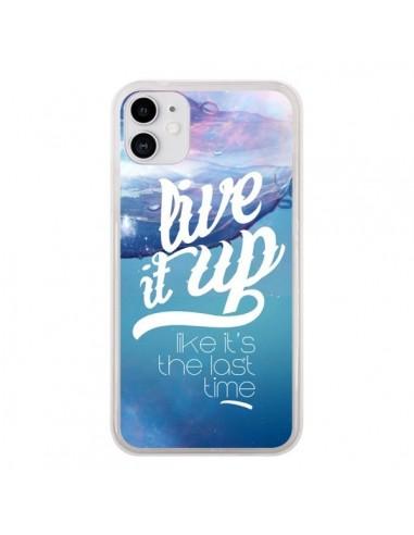 Coque iPhone 11 Last Time Bleu - Javier Martinez
