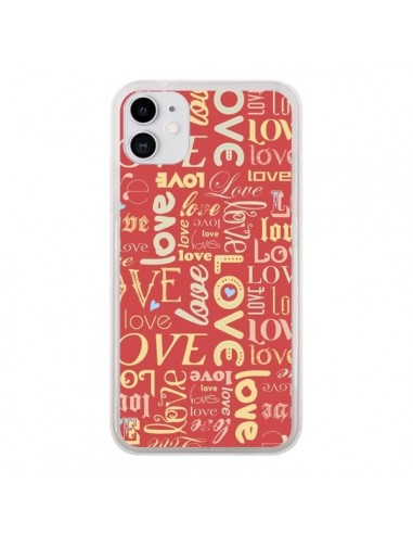 Coque iPhone 11 Love World - Javier Martinez