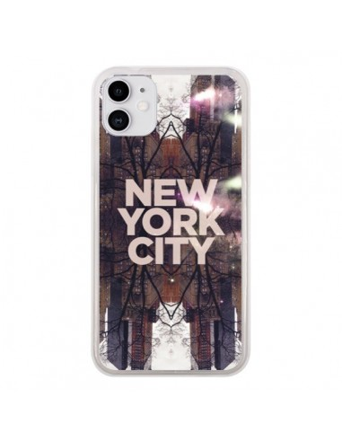 Coque iPhone 11 New York City Parc - Javier Martinez