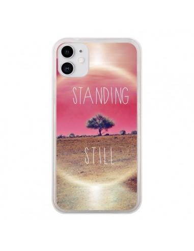 Coque iPhone 11 Standing Still Paysage - Javier Martinez