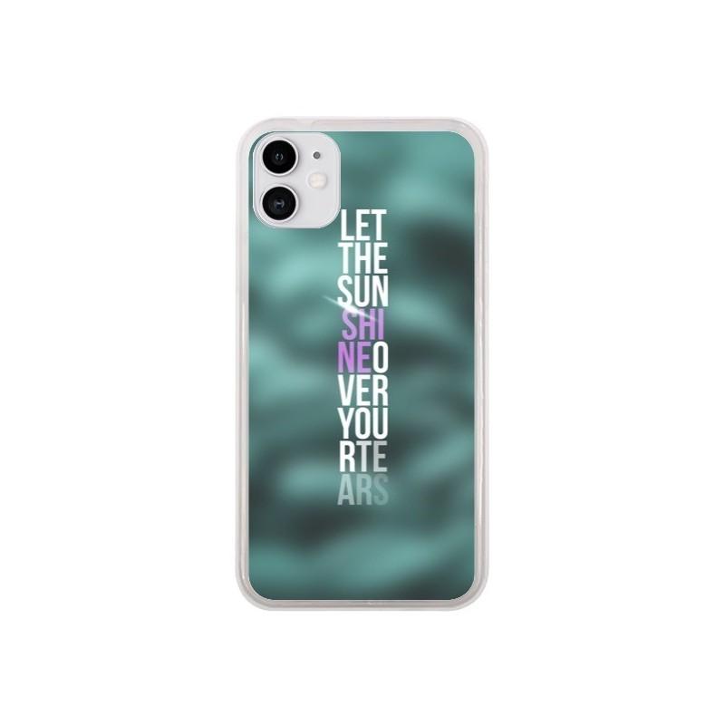 Coque iPhone 11 Sunshine Vert - Javier Martinez