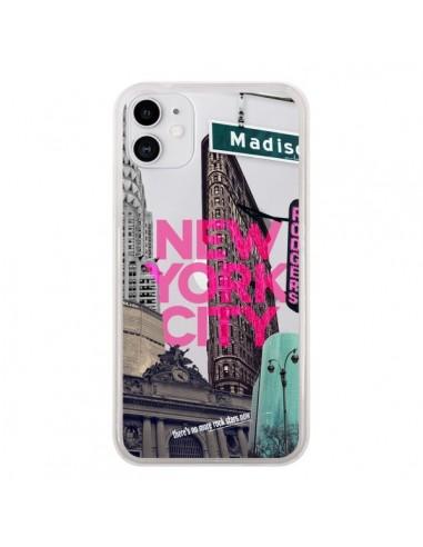 Coque iPhone 11 New Yorck City NYC Transparente - Javier Martinez