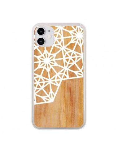Coque iPhone 11 Frozen Stars Etoile Bois Azteque Aztec Tribal - Jenny Mhairi