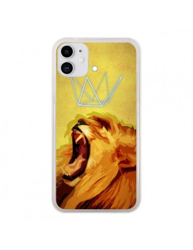 Coque iPhone 11 Lion Spirit - Jonathan Perez