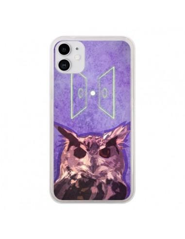 Coque iPhone 11 Chouette Owl Spirit - Jonathan Perez