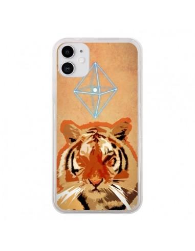 Coque iPhone 11 Tigre Tiger Spirit - Jonathan Perez