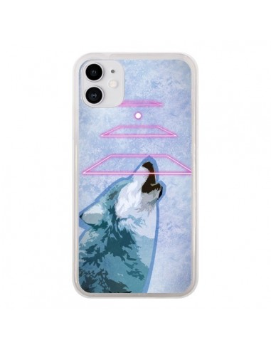 Coque iPhone 11 Loup Wolf Spirit - Jonathan Perez