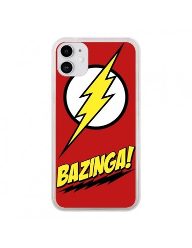 Coque iPhone 11 Bazinga Sheldon The Big Bang Theory - Jonathan Perez