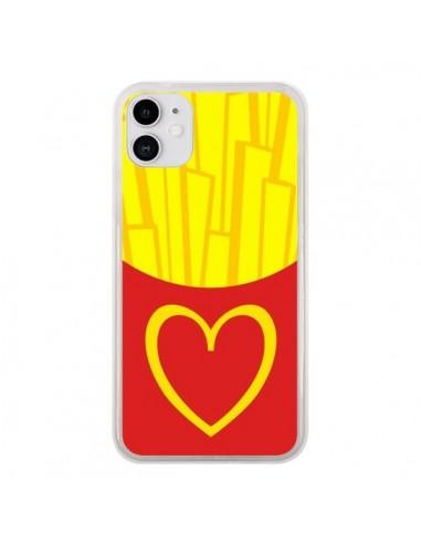 Coque iPhone 11 Frites McDo - Jonathan Perez