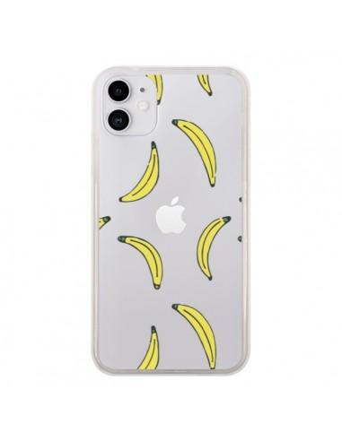 Coque iPhone 11 Bananes Bananas Fruit Transparente - Dricia Do