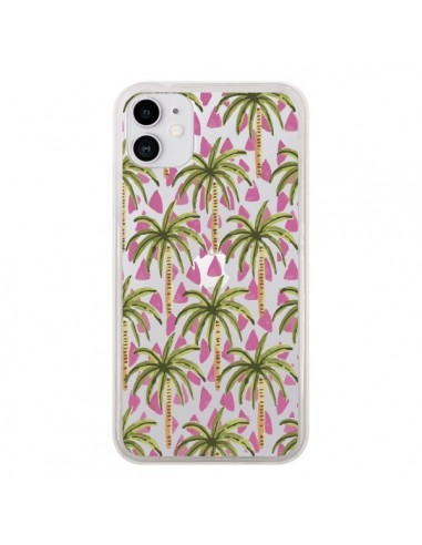 Coque iPhone 11 Palmier Palmtree Transparente - Dricia Do