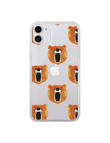 Coque iPhone 11 Ours Ourson Bear Transparente - Dricia Do