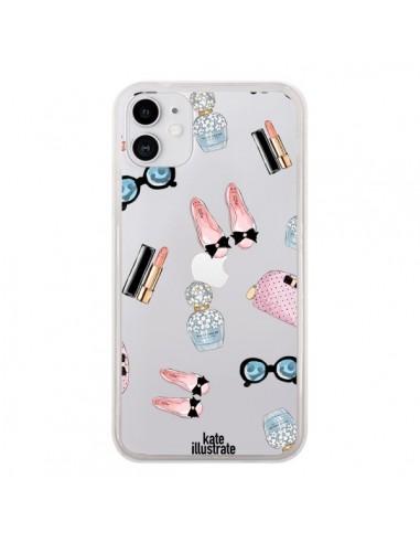 Coque iPhone 11 Essential Beautiful Belle Essentiel Transparente - kateillustrate