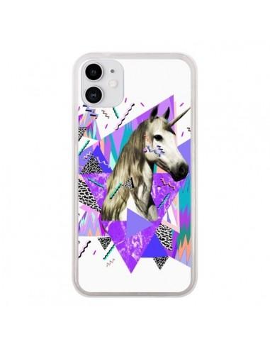 Coque iPhone 11 Licorne Unicorn Azteque - Kris Tate