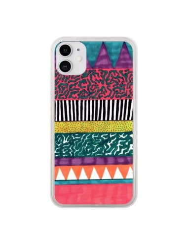 Coque iPhone 11 Azteque Dessin - Kris Tate
