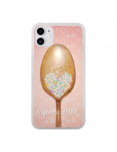 Coque iPhone 11 Cuillère Love - Lisa Argyropoulos
