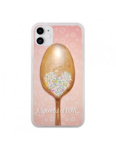 Coque iPhone 11 Cuillère Love - Lisa Argyropoulos