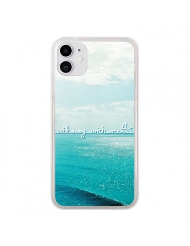 Coque iPhone 11 Sail with me - Lisa Argyropoulos