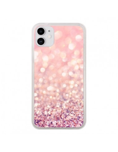 Coque iPhone 11 Paillettes Blush - Lisa Argyropoulos