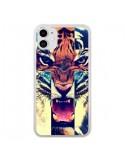 Coque iPhone 11 Tigre Swag Croix Roar Tiger - Laetitia