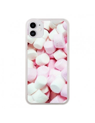 Coque iPhone 11 Marshmallow Chamallow Guimauve Bonbon Candy - Laetitia
