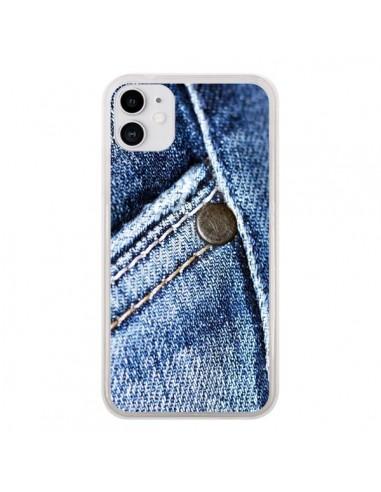 Coque iPhone 11 Jean Vintage - Laetitia