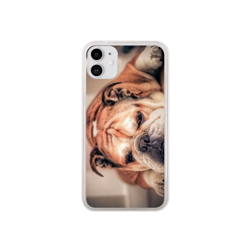 Coque iPhone 11 Chien Bulldog Dog - Laetitia