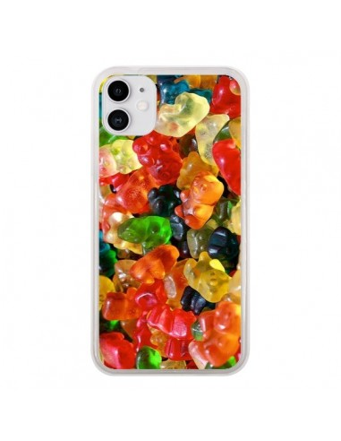 Coque iPhone 11 Bonbon Ourson Candy - Laetitia