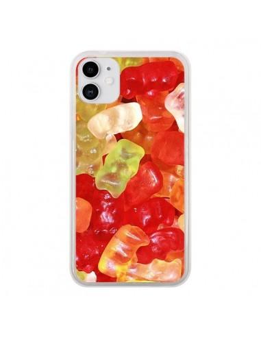 Coque iPhone 11 Bonbon Ourson Multicolore Candy - Laetitia