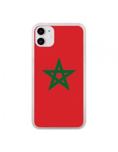 Coque iPhone 11 Drapeau Maroc Marocain - Laetitia
