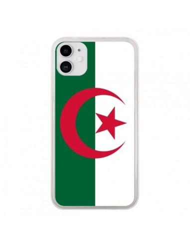 Coque iPhone 11 Drapeau Algérie Algérien - Laetitia