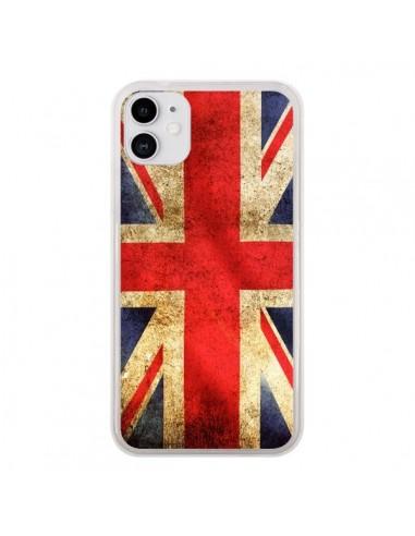 Coque iPhone 11 Drapeau Angleterre Anglais UK - Laetitia