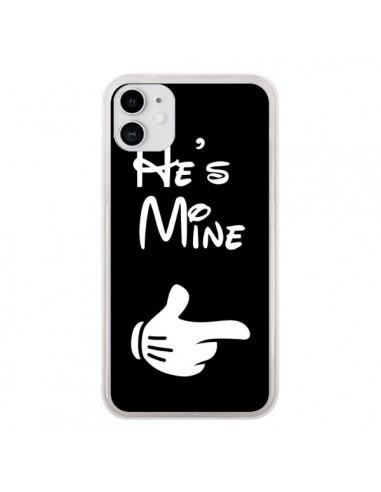 Coque iPhone 11 He's Mine Il est à Moi Amour Amoureux - Laetitia