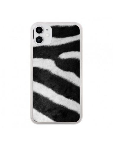 Coque iPhone 11 Zebre Zebra - Laetitia