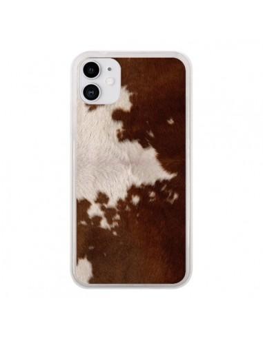 Coque iPhone 11 Vache Cow - Laetitia